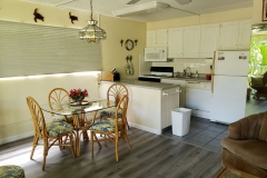 Our upgraded kitchen and dining area
