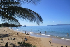 Kamaole 2 beach is just 2 minute walk from our condo