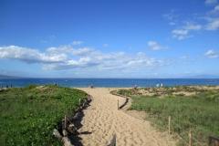 Kam-II-beach entrance - two minute walk