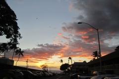 Kihei Kai Nani Sunset over Kamaole II beach