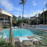 Large 30 x 60 pool in Kihei Kai Nani resort, south Maui Condo