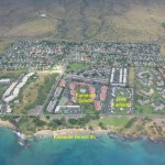 Aerial View of our resort and Kamaole beaches II and III